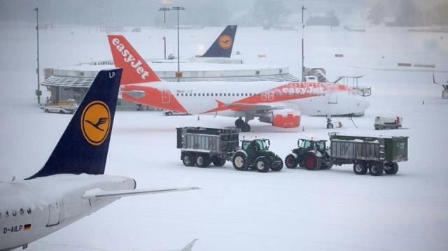 Ελβετία: Κλειστό το αεροδρόμιο της Γενεύης εξαιτίας της κακοκαιρίας