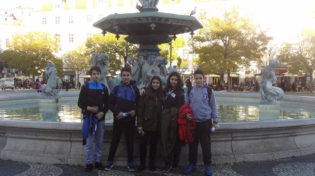 Μαθητές και εκπαιδευτικοί του Γυμνασίου Αγριάς σε εκπαιδευτική επίσκεψη στην Πορτογαλία