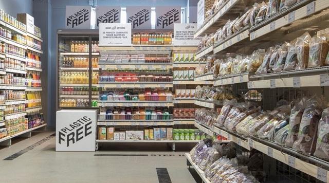 Το πρώτο σούπερ μάρκετ χωρίς πλαστικές συσκευασίες άνοιξε στο Άμστερνταμ