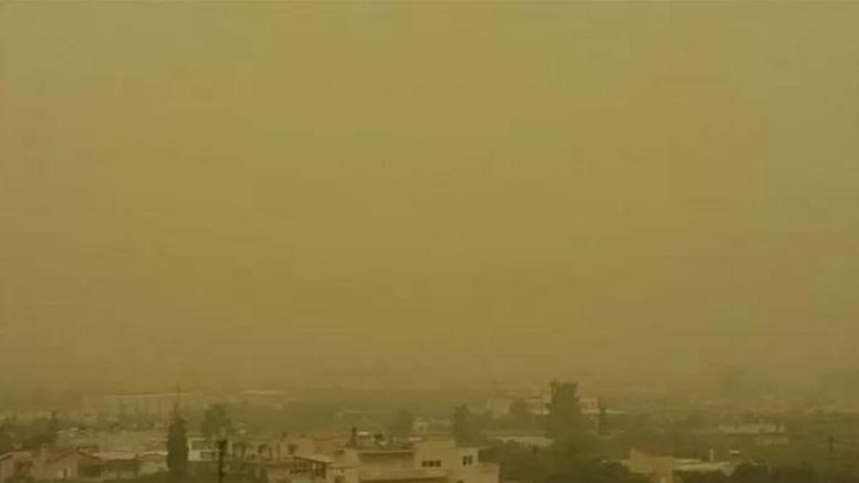 Σύσταση στα άτομα αυξημένου κινδύνου για την αφρικανική σκόνη