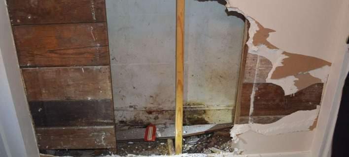 Εγκλωβίστηκε στον τοίχο του σπιτιού της και τη βρήκαν νεκρή 3 χρόνια μετά! [εικόνες]