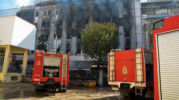 Καταστροφές στο αρχείο της ΔΟΥ Λάρισας από την πυρκαγιά