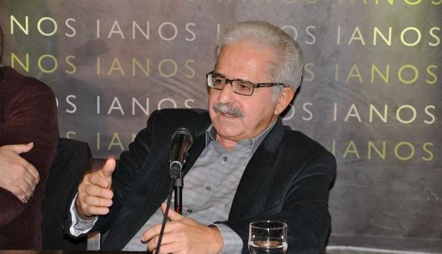 Παρουσιάζεται το νέο βιβλίο του Μίμη Ανδρουλάκη