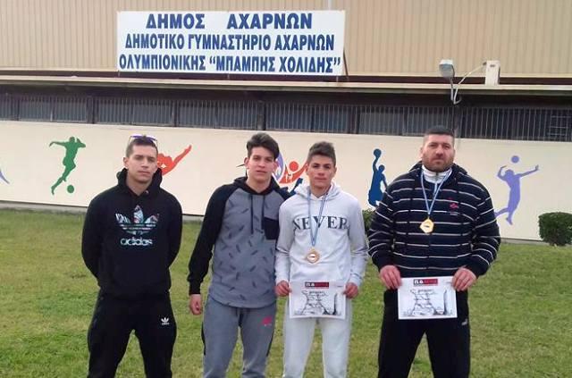 Επιτυχίες του Ολυμπιονίκη στο Πανελλήνιο Πρωτάθλημα ΜΜΑ-GRAPLLING