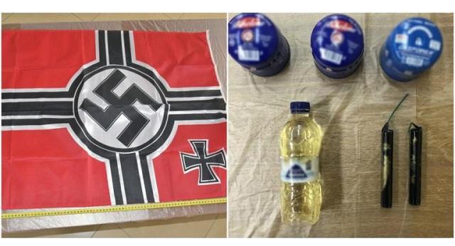 Αυτά είναι τα ευρήματα από τις γιάφκες της νεοναζιστικής «Combat 18» [photos]