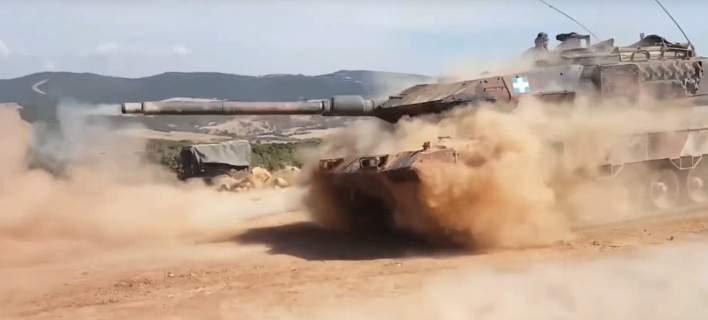 Το εντυπωσιακό βίντεο του ΓΕΣ: Μήνυμα αποτροπής του Δ΄ Σώματος Στρατού στη Θράκη