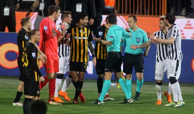 Νίκη του ΠΑΟΚ με 1-0 και διακοπή αποφάσισε ο Κομίνης