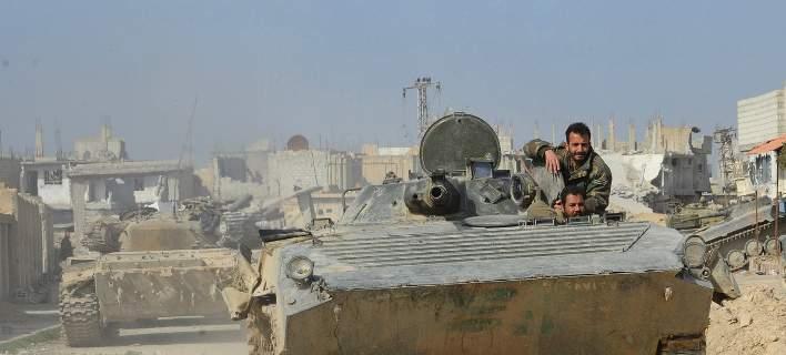 Βομβαρδισμοί δίχως τέλος στην Αν. Γούτα: Συνεχίζεται η επιχείρηση του συριακού στρατού