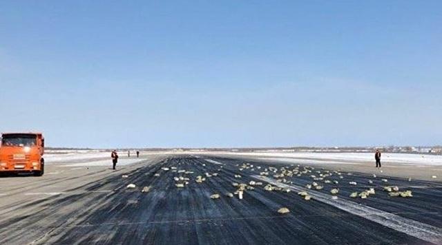 Ρωσία: Αεροσκάφος «σκόρπισε» 3,4 τόνους πλάκες χρυσού στον διάδρομο απογείωσης!