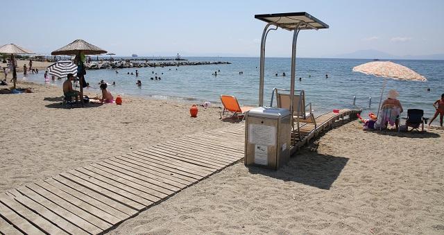 Τέσσερις απόλυτα προσβάσιμες παραλίες στον Δήμο Βόλου