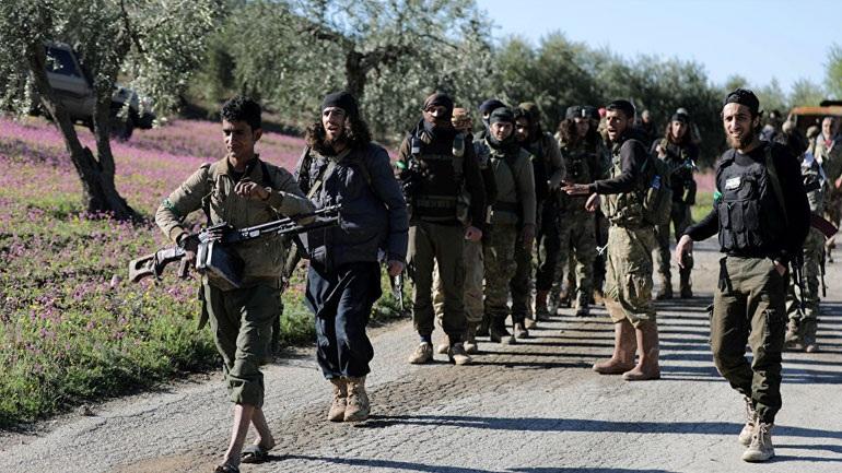 Οι τουρκικές δυνάμεις και οι σύμμαχοί τους εισέβαλαν στην πόλη Αφρίν