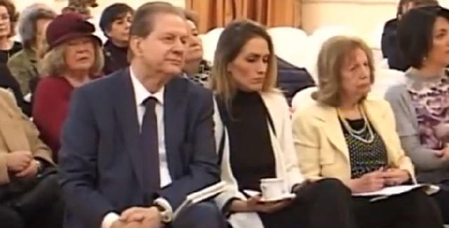 Σε εκδήλωση στην Εξωραϊστική Λέσχη Βόλου ο πρ. υπουργός Β. Πολύδωρας