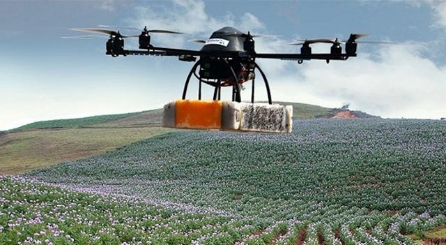 Τα drones... «μάτι» των παραγωγών στα χωράφια