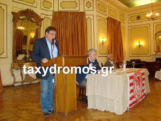 Νίκος Τσεκούρας: «Αποχωρώ από τον Ολυμπιακό»