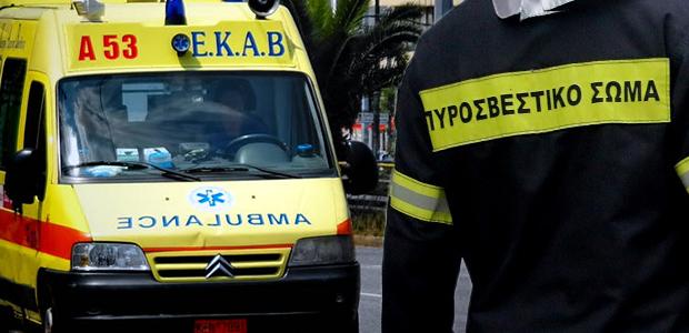 Τροχαίο ατύχημα με εγκλωβισμό οδηγού στην Μπουρμπουλήθρα