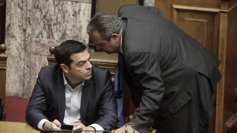 Καμμένος: Εντιμη σχέση με ΣΥΡΙΖΑ, δεν έγιναν υπόγειοι διάλογοι