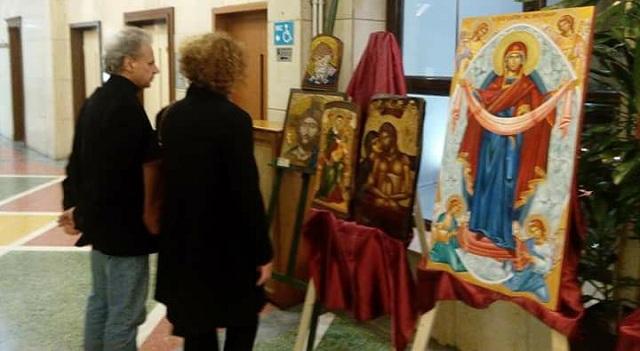 Έκθεση Βυζαντινής Αγιογραφίας προς τιμήν των ενόπλων δυνάμεων