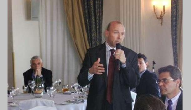 Ο Τσέχος πρέσβης κ. Jan Bondy στον Βόλο