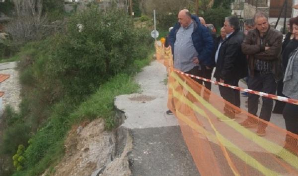 Απομακρύνθηκε το ελαιοτριβείο στην Αλλη Μεριά για τη διάνοιξη δρόμου