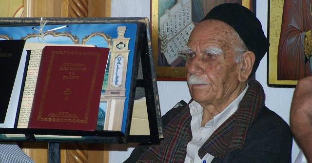 «Εφυγε» ο οραματιστής του Γηροκομείου Καναλίων Θ.Γκαβαρδίνας