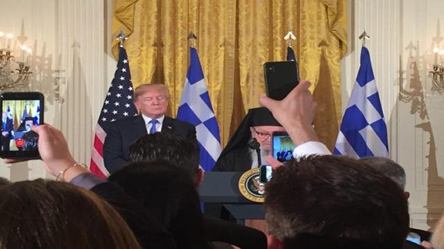 Ο Τραμπ τίμησε την 25η Μαρτίου με δεξίωση στον Λευκό Οίκο