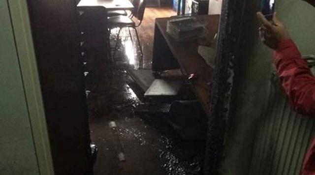 Εμπρηστική επίθεση στα γραφεία της αφγανικής κοινότητας στο κέντρο της Αθήνας