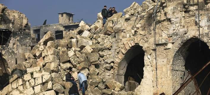 Οι Τούρκοι βομβάρδισαν αρχαιολογικούς χώρους και Χριστιανικές εκκλησίες στην Αφρίν [εικόνες]