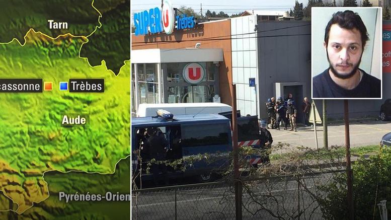 Νεκρός ο ένοπλος που κρατούσε ομήρους στη Νότια Γαλλία