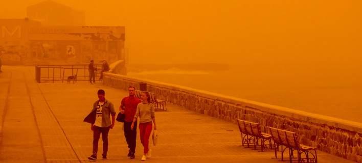 Εθνικό Aστεροσκοπείο: Ενα από τα μεγαλύτερα επεισόδια μεταφοράς ερημικής σκόνης στην Ελλάδα