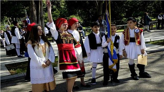 Μαθητική παρέλαση στο κέντρο της Αθήνας [εικόνες]