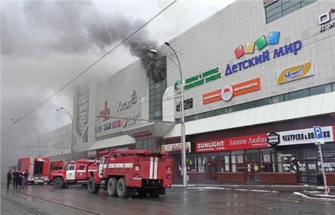 Ρωσία: Δεκάδες νεκροί και τραυματίες από πυρκαγιά σε εμπορικό κέντρο [Βίντεο]