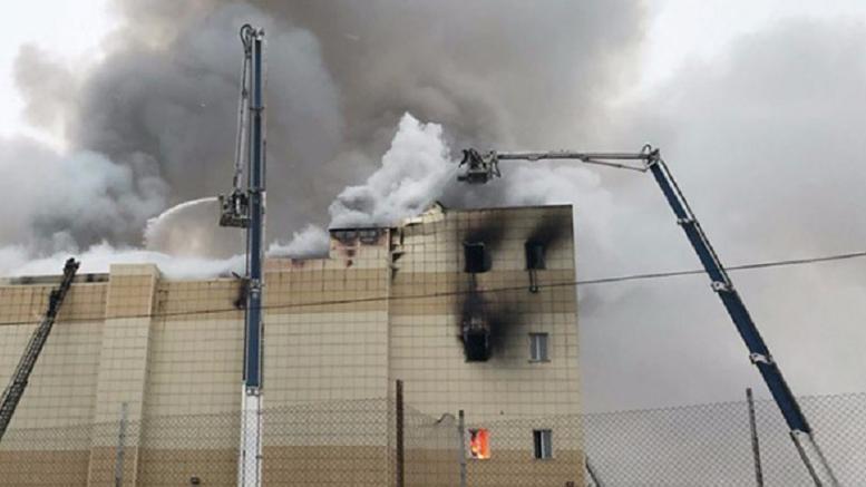 Στους 53 οι νεκροί από τη φωτιά σε εμπορικό κέντρο στη Ρωσία
