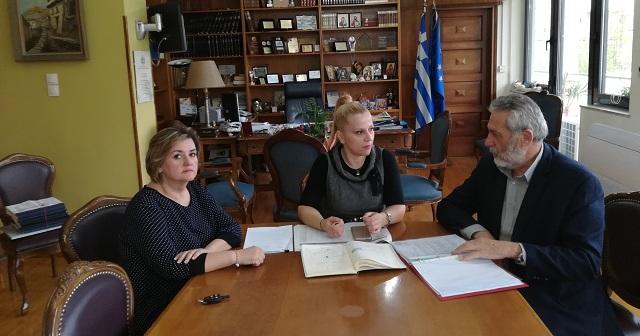 Συνεργασία Κολυνδρίνη -Εσερίδη για τα νέα έργα στον Δήμο Αλμυρού