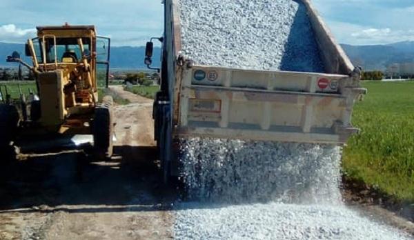 Αποκαταστάσεις ζημιών στο Δήμο Ρ. Φεραίου