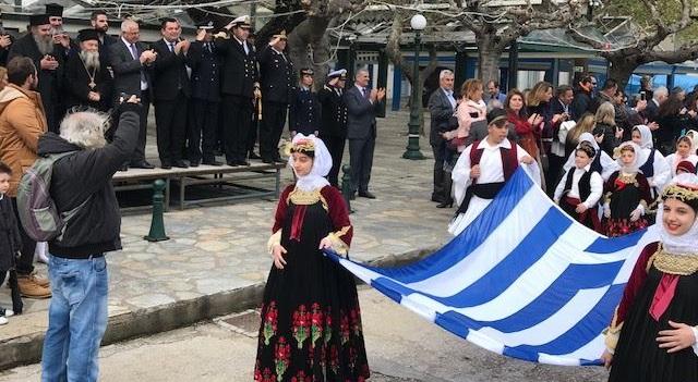 Στις εκδηλώσεις για την 25η Μαρτίου στην Σκόπελο ο Χρ. Μπουκώρος