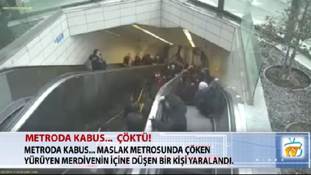 Κυλιόμενη σκάλα «κατάπιε» άνδρα στην Κωνσταντινούπολη [βίντεο]