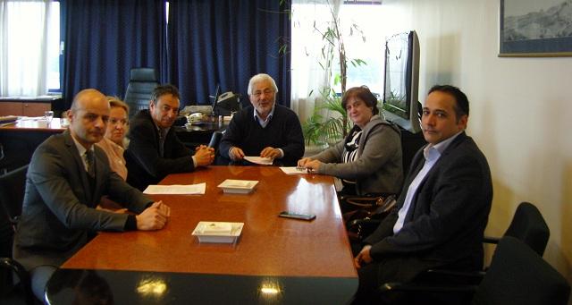 Συνάντηση εργασίας Νικ. Ντίτορα και προέδρου του Δικηγορικού Συλλόγου Λάρισας