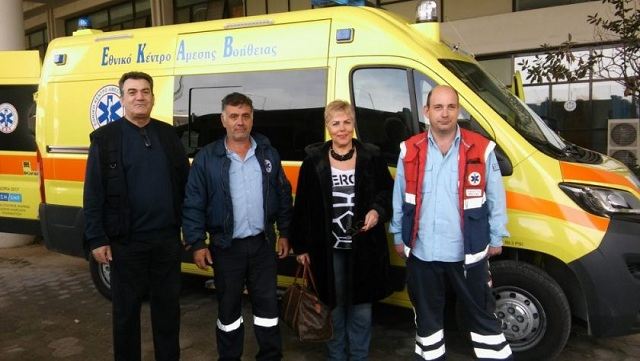 Τρία νέα ασθενοφόρα στο ΕΚΑΒ Βόλου
