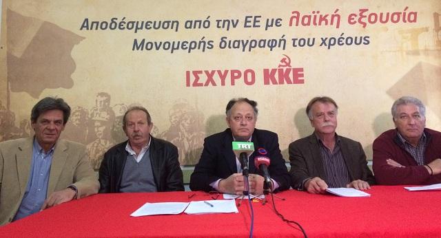 ΚΚΕ: Αντικομουνιστικός οχετός από τη δημοτική αρχή Βόλου