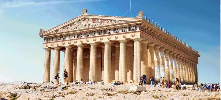 Πώς θα ήταν η Ακρόπολη και ακόμη 6 μνημεία αν δεν είχαν υποστεί καταστροφή