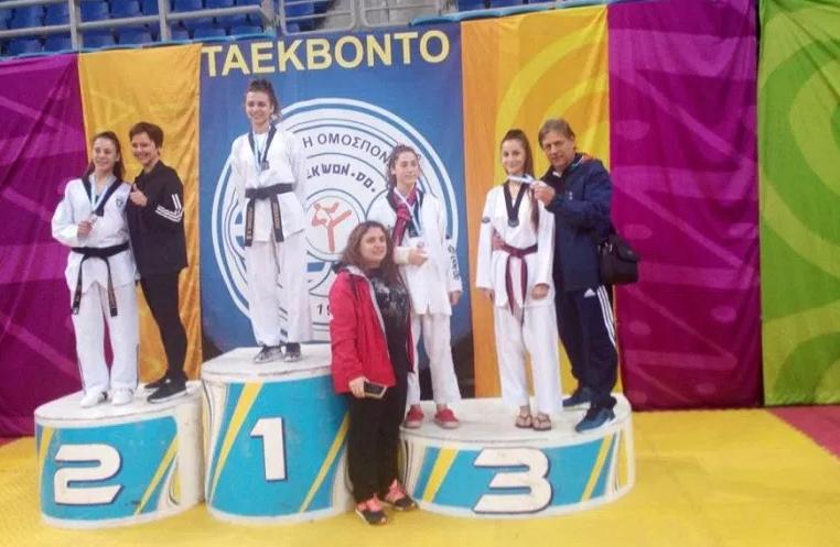 3η Θέση στο Σχολικό παν/νιο πρωτάθλημα για την αθλήτρια του ΑΟΤΝΙΒ Ευσταθίου Ελένη
