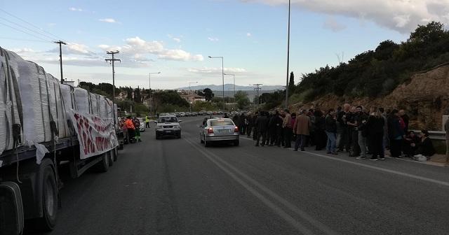 Επεισόδια στην ΑΓΕΤ με διαμαρτυρίες, αποκλεισμούς και προσαγωγές
