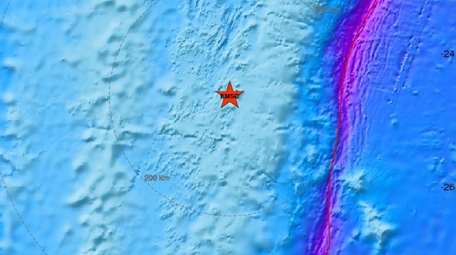 Σεισμός 6,2 R ανοικτά των Φίτζι