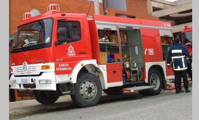 Ασκηση της Πυροσβεστικής στις εγκαταστάσεις της ΔΕΥΑ Λάρισας