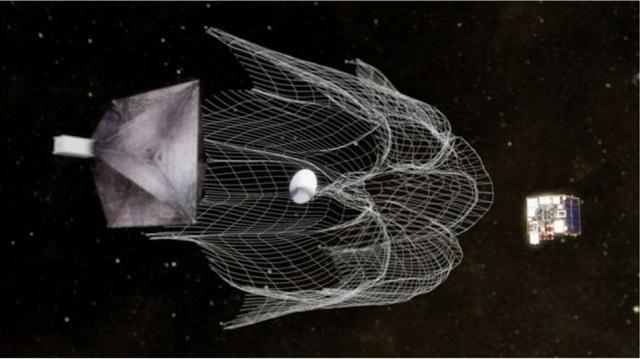 Εκτοξεύθηκε ο ευρωπαϊκός «κυνηγός» διαστημικών σκουπιδιών «RemoveDebris»