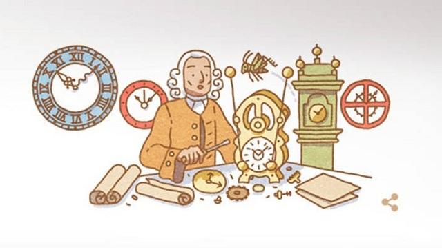 Η Google τιμά τον αυτοδίδακτο ωρολογοποιό και ξυλουργό Τζον Χάρισον