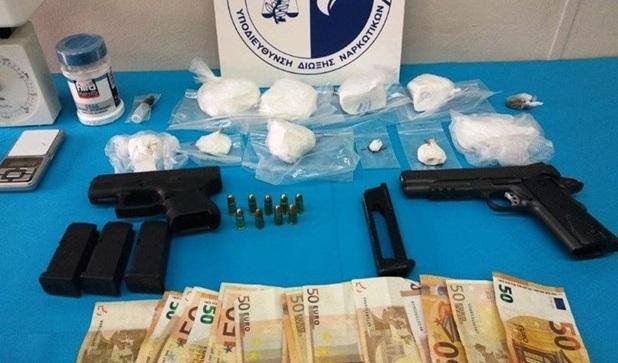 Σπείρα διακινούσε κοκαΐνη σε Λάρισα και Αθήνα
