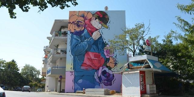 40 δημόσιες τοιχογραφίες από την Urbanact στον Βόλο