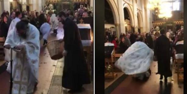 Ανάσταση με πατίνι από τον ιερέα της χρονιάς (video)