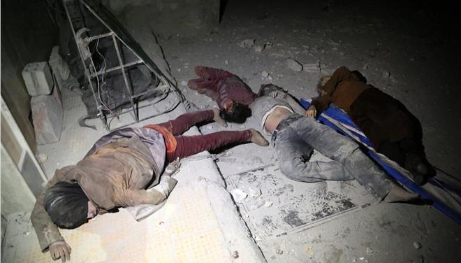 Για επίθεση με χημικά κατηγορεί τη Συρία η ΕΕ - Τι απαντά η Δαμασκός